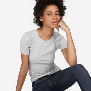 Pima Microrib Crew T-Shirt